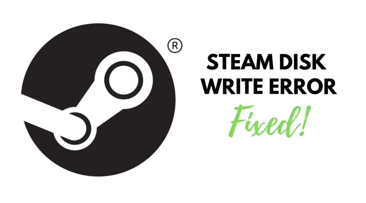 How To Fix Steam Disk Write Error